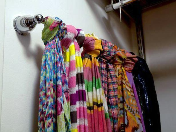 Great Ideas for Repurposing to Organize your Closet!