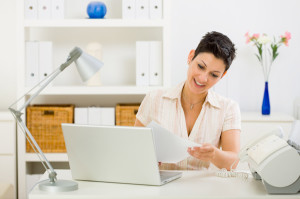 Create an Organized Home Office
