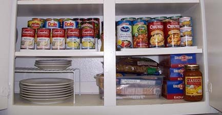 Organizing Kitchen Clutter Spots