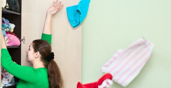 Let's get Moving! Step 1: Decluttering