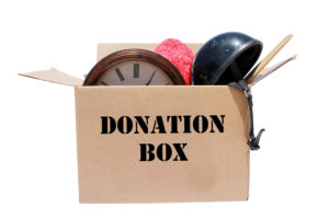 donation box organizing boston