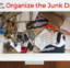 3 simple steps to organize the junk drawer
