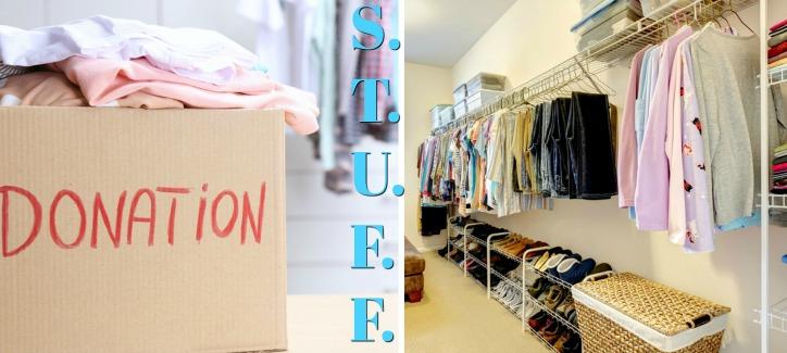 Clothing Organizing Inspiration with STUFF Method!
